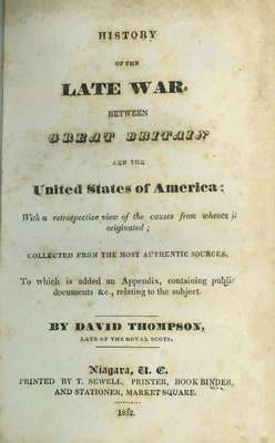 History of the late war, between Great Britain and the United States of America