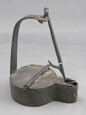 Semi-Liquid Crusie Lamp (Betty Lamp)- c. 1800: 1812 History