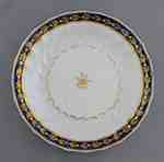 Coalport Blue and Gold Porcelain Plate- c. 1800-1810