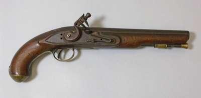 Officer's Flintlock Pistol- c. 1800-1830