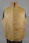British Officer's Waistcoat Once Belonging to Alonzo Strong