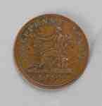 King George III 1812 Half Penny Coin