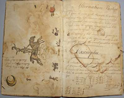 John D. Servos School Exercise Book: 1801-1802