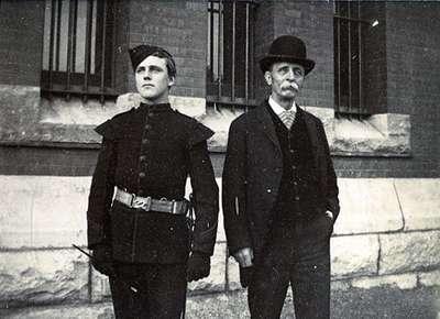 "LH0902 ""Buglar Douglas Williams and Father"""