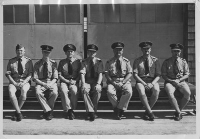 Oshawa No. 20 Elementary Flying Training School Group Photo
