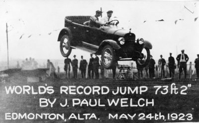 LH0029 World's Record Jump by J. Paul Welch