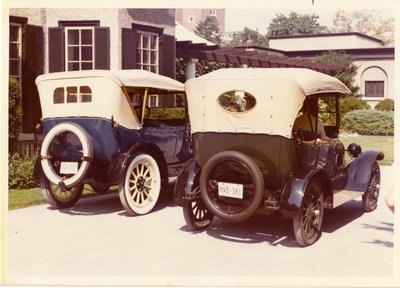 LH0288 Two Buicks 1916 & 1918