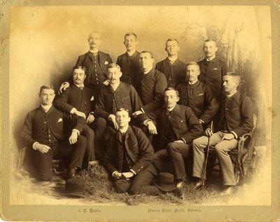 LH0289 Group Photo- Unidentified Men