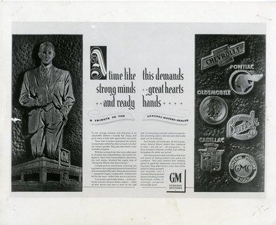 LH0300 General Motors - Advertising
