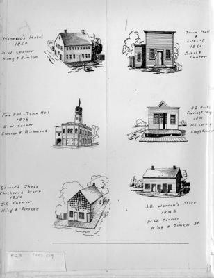 Sketches of Early Businesses