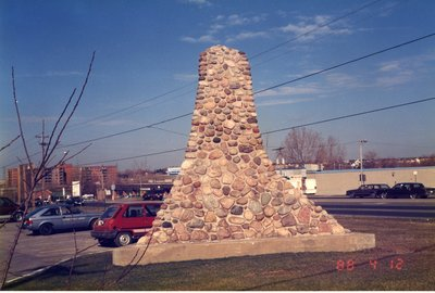 LH0446 Monument- Rev. Robert Thornton