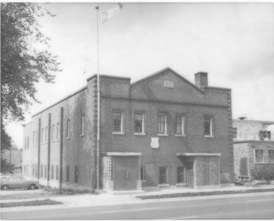 LH0497 Oshawa Legion Hall exterior