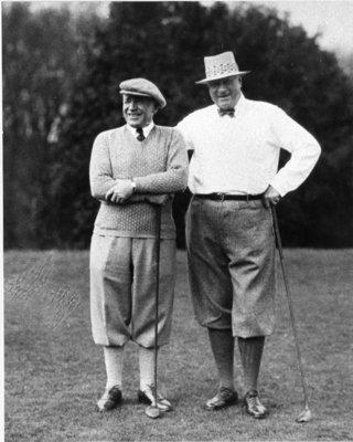 LH0542 McLaughlin, R.S. Golfing