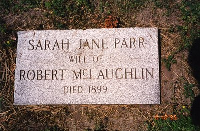 LH0610 Headstone for Sarah Jane Parr