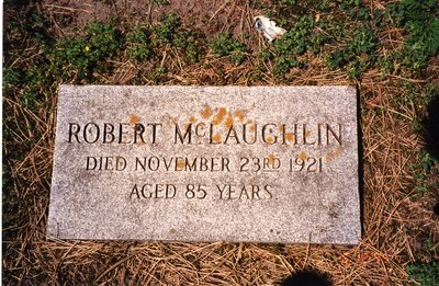 LH0611 Headstone- Robert McLaughlin