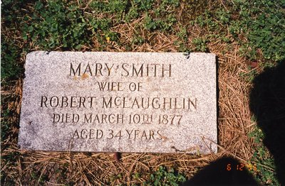 LH0613 Headstone for Mary Smith