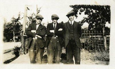 LH1109 People- Unidentified Men - three