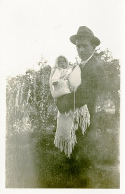 J. Aubrey Morphy and infant son J. Denys Morphy
