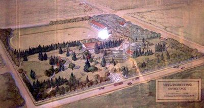 View of Prospect Park, Oshawa, Ontario