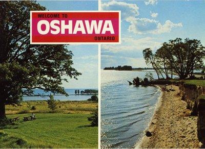 LH0012 Postcard of waterfront