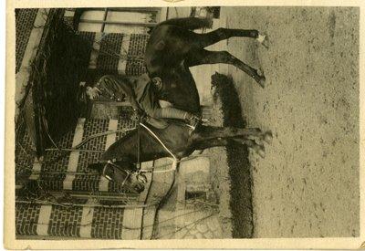 LH2867 Unidentified Male on Horseback