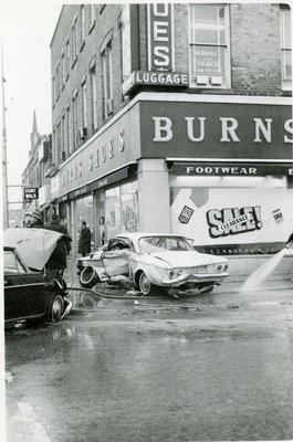 LH2839 Burns Shoes - Car Collision - Crumpled door