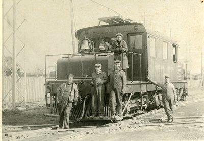 LH2698 Oshawa Railway company - Train