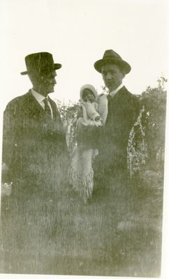 LH1331 Three generations of Morphy Men- Henry, Aubrey and Denys, August 1923