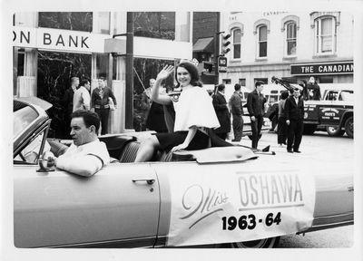 LH0631 Parade - Miss Oshawa, 1963-64