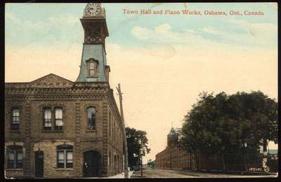 Oshawa Town Hall and Williams Piano Works