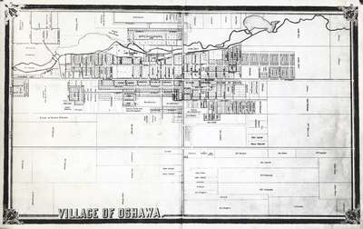 LH1068 Map of Oshawa