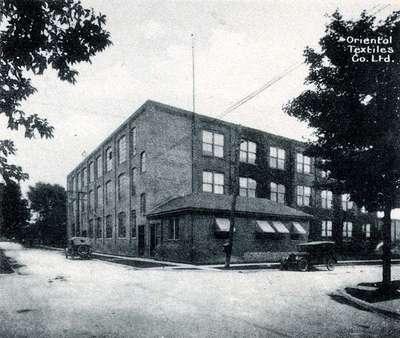 LH1051 Oriental Textiles co. - Factory Exterior
