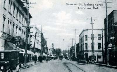 LH1057 Simcoe Street - looking north