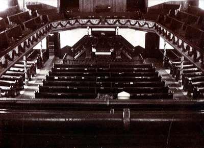 "LH0894 ""Interior of Simcoe St. Methodist Church"""