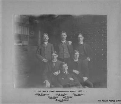 LH1595 Pedlar People Ltd. Office Staff