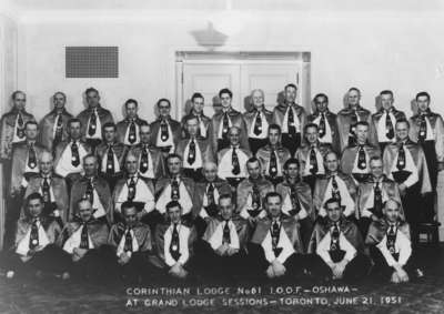 LH1699 Corinthian Lodge No. 61 I.O.O.F. Portrait