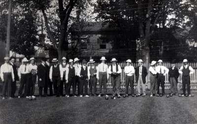 LH1095 Oshawa Lawn Bowling Club