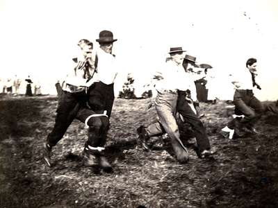 "LH0933 ""Three-Legged Race at McLaughlin's Picnic"""