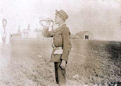 LH0986 Boys' Brigade - Bugler - Camp