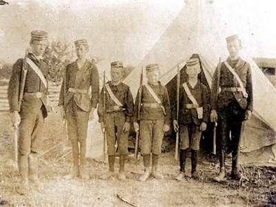 LH0991 Boys Brigade - Guard Unit - Camp
