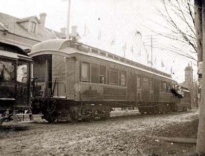 LH1007 Florida Streetcar - Passenger Car