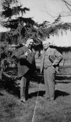 LH1287 Henry Edmund Morphy & Unidentified Man