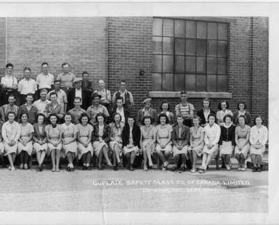 Duplate Canada Ltd. Employees 1940 - Landscape (Part 3 - Right)
