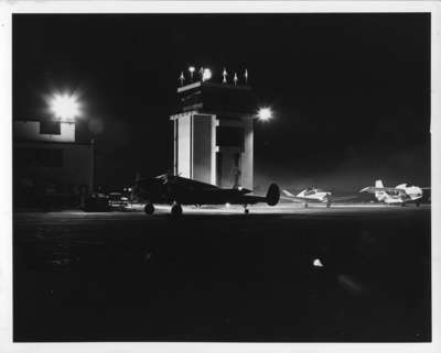 LH2160 Airfield at Night