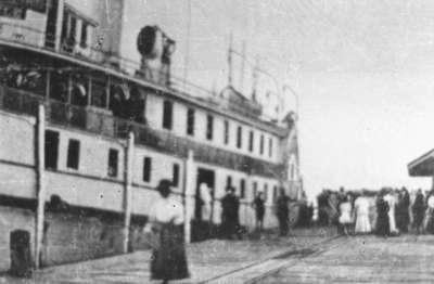 The Argyle Steamer in Oshawa Harbour