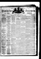 Provincial Freeman (Toronto and Chatham, ON: Mary Ann Shadd Cary (October 9, 1823 – June 5, 1893)), July 12, 1856