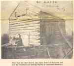 Christian Zavitz, Jr. Log cabin