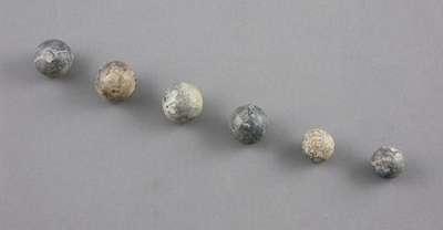 Musket Balls- c. 1812