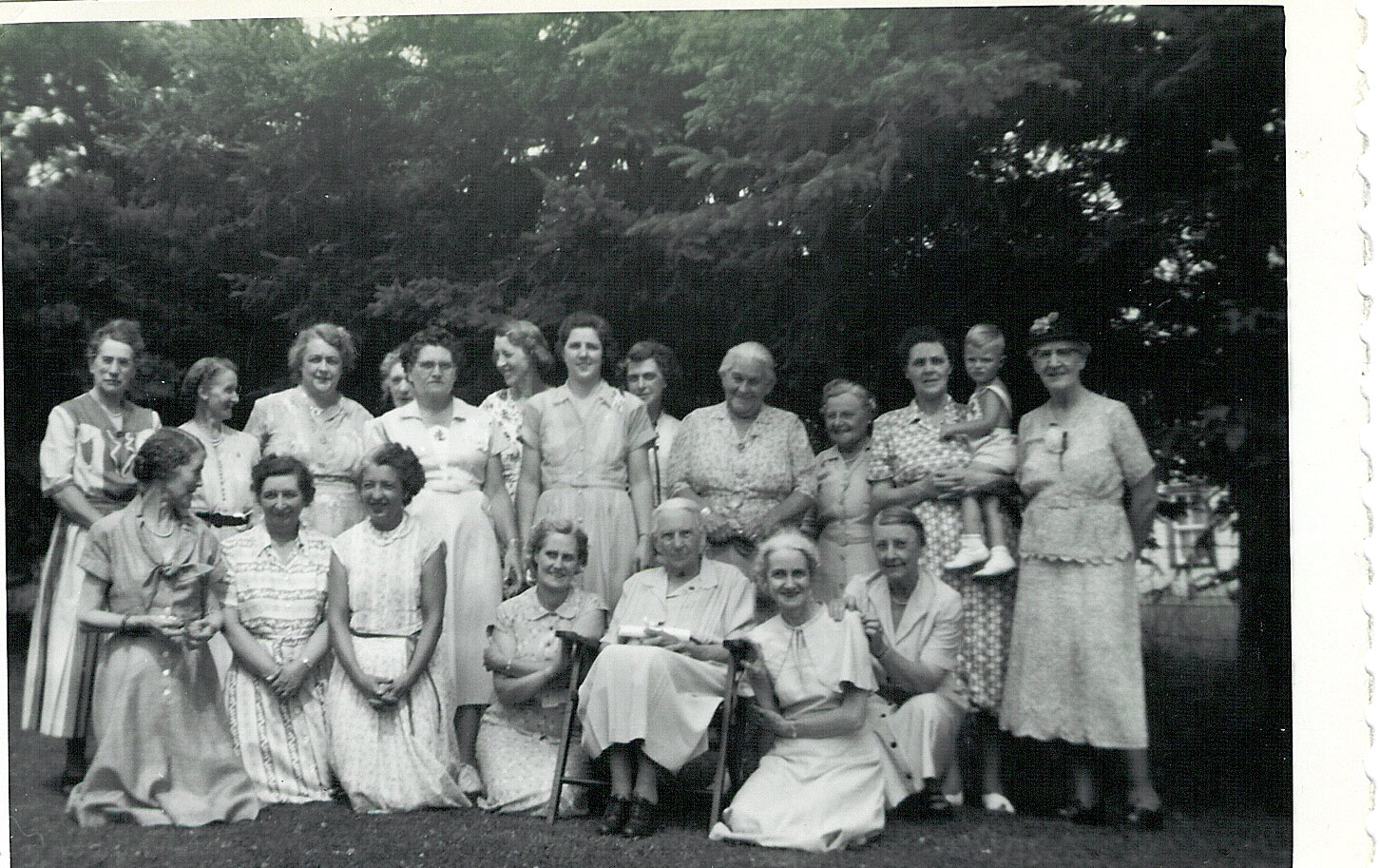 The Women's Auxiliary of the Church of the Redeemer in Rosseau, in the 1950s. Courtesy the Rosseau Historical Society.