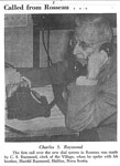 Charles S Raymond making 1st call over dial system May 15 1960 - RI0033